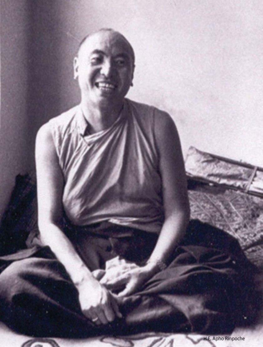 Лама Апо Ринпоче настоятель Карданга