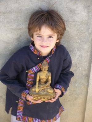 Мальчик и Будда